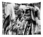 Pow Wow Beauty Of The Past Tapestry
