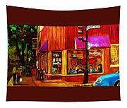Beautys Luncheonette  Tapestry