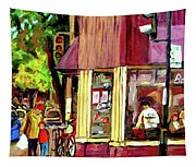 Beautys Luncheonette Montreal Diner Tapestry