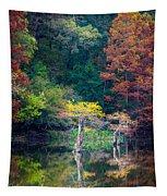 Beavers Bend Trees Tapestry