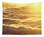 Bed Of Puffy Clouds Tapestry