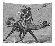 Bedouin Messenger Tapestry