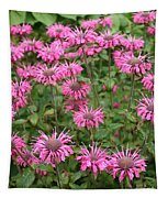 Bee Balm Beauties Tapestry