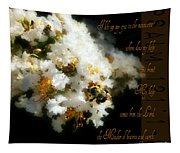 Bee In Crape - Verse Tapestry