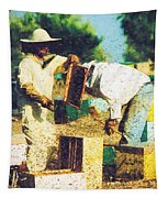 Bee Keepers Tapestry