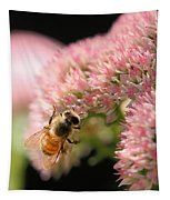 Bee On Flower 3 Tapestry