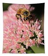 Bee On Flower 4 Tapestry