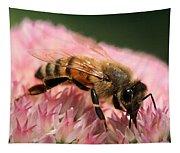 Bee On Flower 6 Tapestry