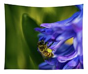Bee On The Hyacinth Tapestry