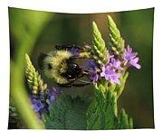Bee On Wildflower Tapestry