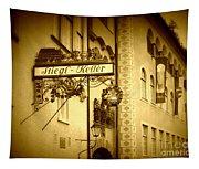 Beer Cellar In Salzburg Tapestry