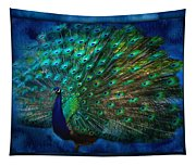 Being Yourself - Peacock Art Tapestry