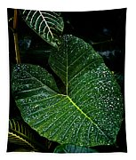 Bejeweled Leaf Tapestry