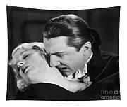 Bela Lugosi  Dracula 1931  Feast On Mina Helen Chandler Tapestry