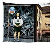 Belfast Mural - Butterfly - Ireland Tapestry