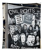 Belfast Mural - Civil Rights - Ireland Tapestry