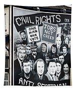 Belfast Mural - Civil Rights - Ireland Tapestry
