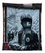 Belfast Mural - Face Mask - Ireland Tapestry