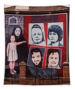 Belfast Mural - Ireland Tapestry
