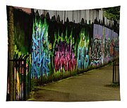 Belfast - Painted Wall - Ireland Tapestry