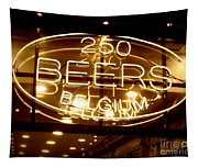 Belgian Beer Sign Tapestry