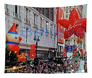 Believe Macys  Parade Tapestry