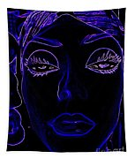 Belinda In Blue Tapestry