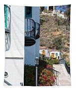 Santa Catalina Island Bell Tower Tapestry