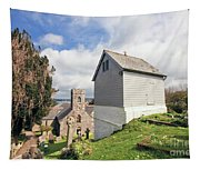 Bell Tower St Mylor Cornwall Tapestry