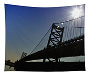 Ben Franklin Bridge 2 Tapestry
