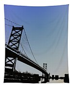 Ben Franklin Bridge Tapestry