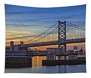 Ben Franklin Bridge Tapestry