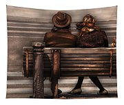Bench - A Couple Out Of Time Tapestry