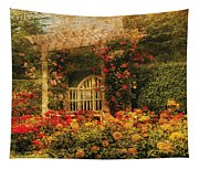 Bench - The Rose Garden Tapestry
