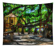 Beneath The Banyan Tree Tapestry