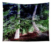 Bent Fir Tree Tapestry