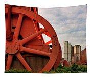 Bessemer Converter - Steel City - Pittsburgh Tapestry