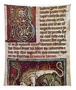 Bestiary: Lion Tapestry