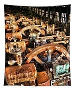 Bethlehem Steel Blower House Tapestry
