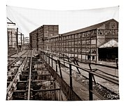Bethlehem Steel Number Two Machine Shop Tapestry