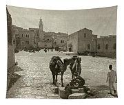 Bethlehem: Street, C1911 Tapestry