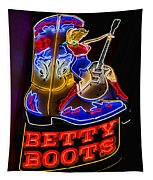 Betty Boots Tapestry