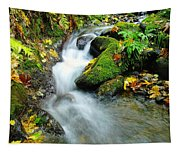 Betwixt The Mossy Rocks Tapestry