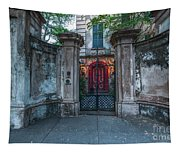 Beyond The Gate Tapestry