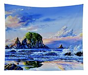 Beyond The Shore Tapestry