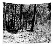 Beyond The Trees Tapestry