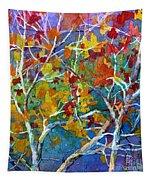 Beyond The Woods - Orange Tapestry