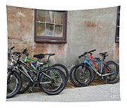Bicycle Parking Tapestry