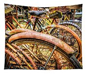 Bicycles Tapestry