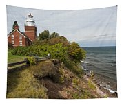 Big Bay Point Lighthouse 2 Tapestry